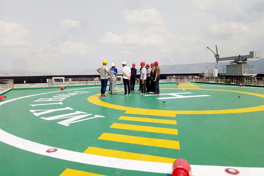 甘肃兰州·金凯瑞大厦 屋顶直升机停机坪